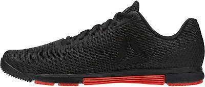 100% QualitäT Reebok Speed Tr Flexweave Mens Training Shoes Black Gym Trainers