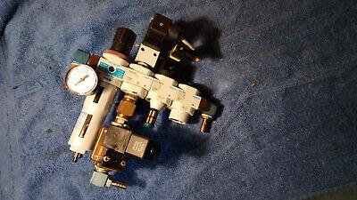Festo Wartungseinheit Lfr-d-5m-mini Frm-d-mini Hee-d-mini-24 Hel-d-mini Mn1h-2-1