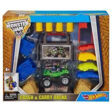 Mattel Hot Wheels Monster Jam  Tragbare Crash-Arena mit Grave Digger