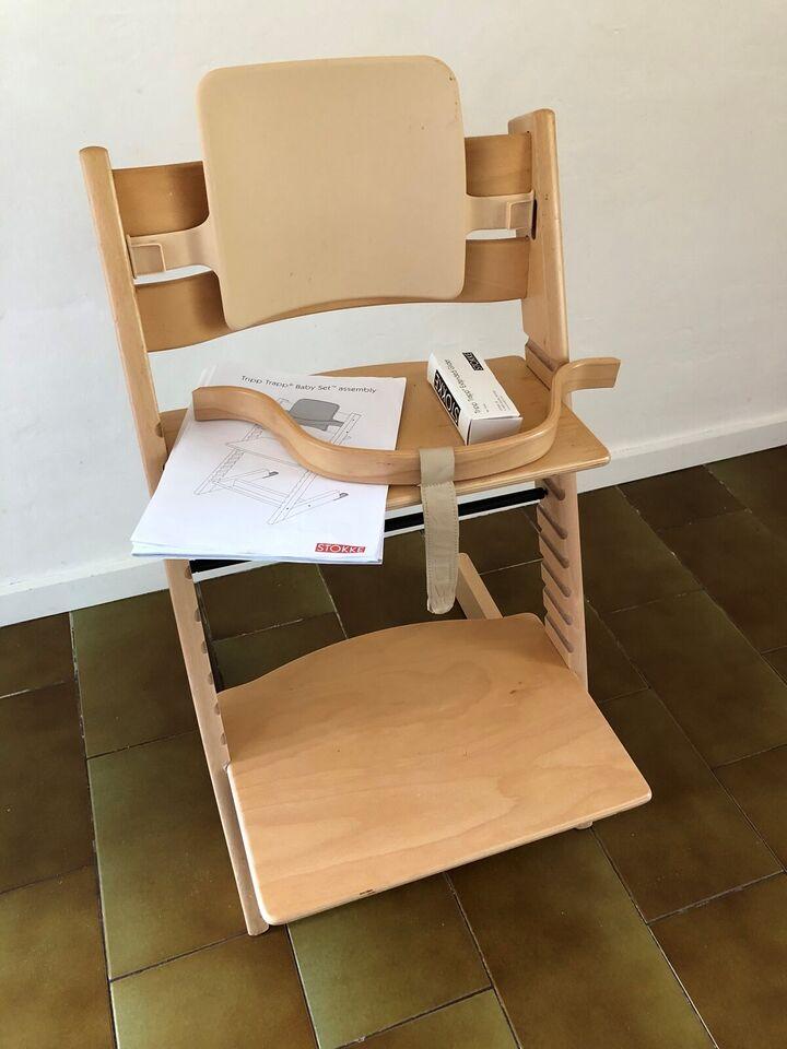 Højstol, Stokke Tripp Trapp stol – dba.dk – Køb og Salg af