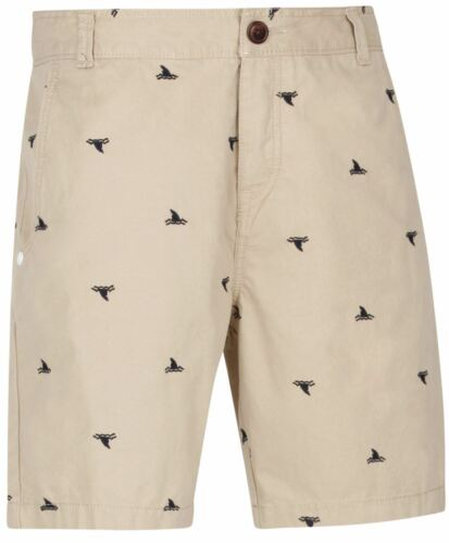 Mens Adidas Neo Label Beige Boat Print Shorts B45
