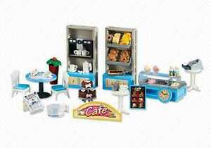 PLAYMOBIL-Shop-Bakery-Cafe-Tea-Room-Accessories-set-RARE-NEW-FREE-SHIPPING