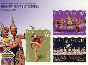 Enthousiaste Nouvelle Zelande Bangkok World Philatelic Exhibition Performance Fiable