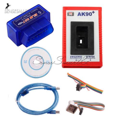 ELM327 Scanner Tool Bluetooth Diagnostic 2017 OBD2 AK90 Programmer for Car BMW