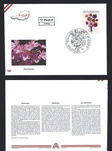 Osterreich-2009-ANEMONE-Treuebonusmarke-Michel-Nr-2821-auf-FDC-ANK-2849