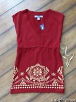 Old Navy Size Xs Boho Print Sleeveless Summer Sweater
