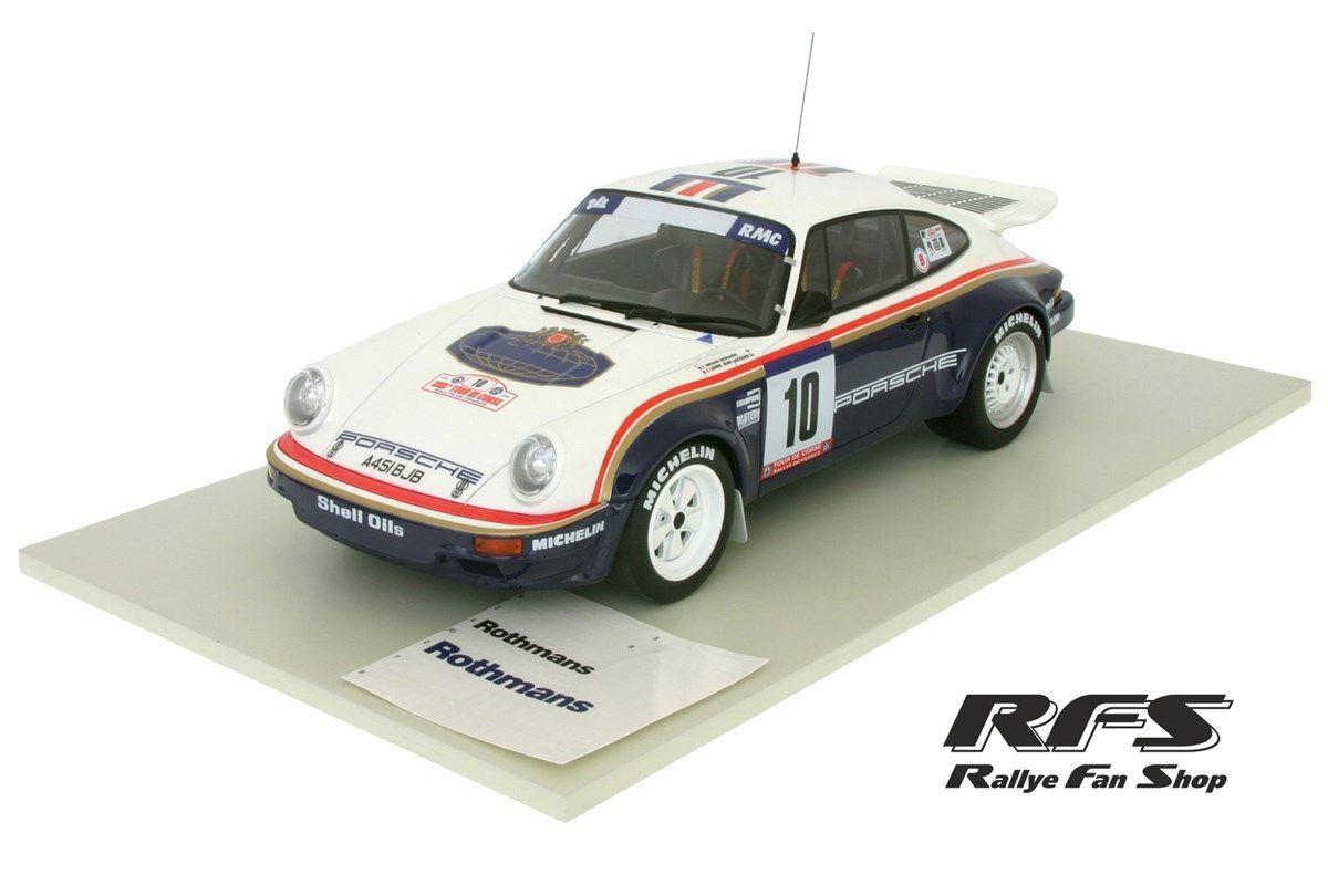 Porsche 911 SC RS rougehmans RALLYE TOUR DE CORSE 1985 Béguin 1 18 OTTO 173 nouveau
