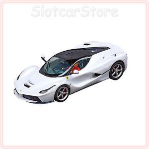 Carrera Evolution 27478 Ferrari Laferrari White Metallic 1 32 Slotcar Auto Ebay
