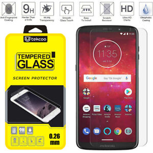 For-Motorola-Phone-Tempered-Glass-Screen-Protector-Ultra-Slim-Film-Cover-Clear