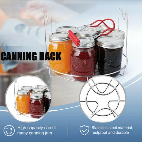 Handy Canning Rack Stainless Steel Canning Jar Rack Kitchen Canner Bottle Rack