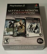 BRAND NEW SEALED PS2 BOX SET -- Medal of Honor Collection (PlayStation 2, 2007)