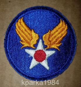 Details about WW2 ERA US ARMY AIR CORPS SHOULDER INSIGNIA PATCH