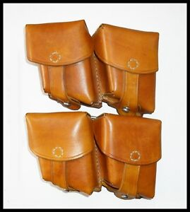 double holster, set - two double holster - the Mannlicher - Mielec, Polska - double holster, set - two double holster - the Mannlicher - Mielec, Polska