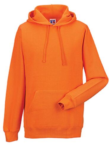 Russell 575M 50//50 Hooded Sweatshirt Jumper Hoodie Hoody No Logo XS-XXL