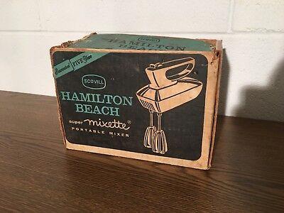 Vintage Hamilton Beach Super Mixette Model 79 Scovill With