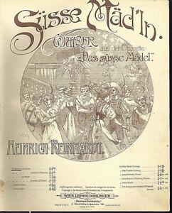 034-Suesse-Maed-039-ln-034-von-Heinrich-Reinhardt-uebergrosse-alte-Noten