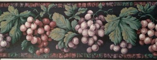 International   Wallcovering Grapes Wallpaper Border
