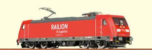 Brawa 43924 TRAXX E-Lok BR 185.2 DB AG Gleichstrom DC H0 NEU & OVP