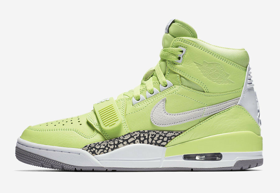 Nike Air Jordan Legacy 312 Ghost Green Size 14. AQ4160-301