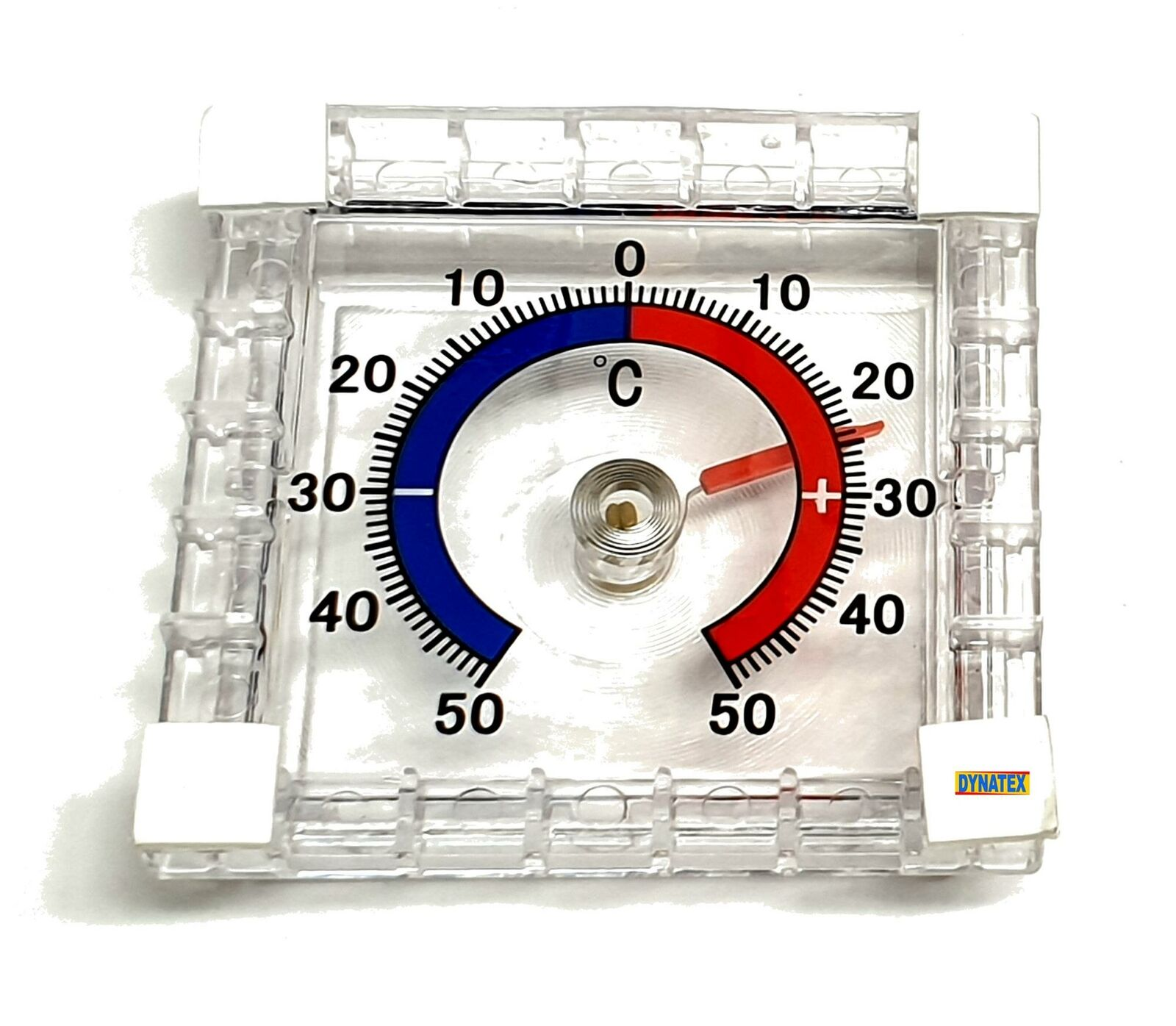 Window Thermometer Stick On Adhesive C Degrees Indoor Outdoor Wall Greenhouse