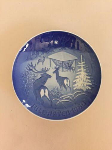 Bing /& Grondahl Christmas Plate 1980