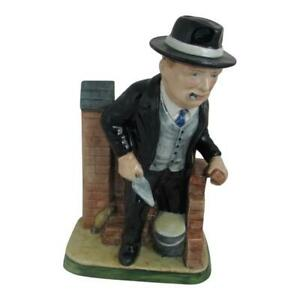 Winston Churchill Bricklayer Figure Bairstow Pottery Collectables Made In Uk Ebay
