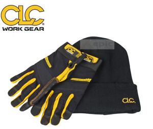 KUNYS-CLC-Flex-Grip-Safety-Work-Gloves-Size-Large-L-Beanie-Hat-KUNFLGLOVE