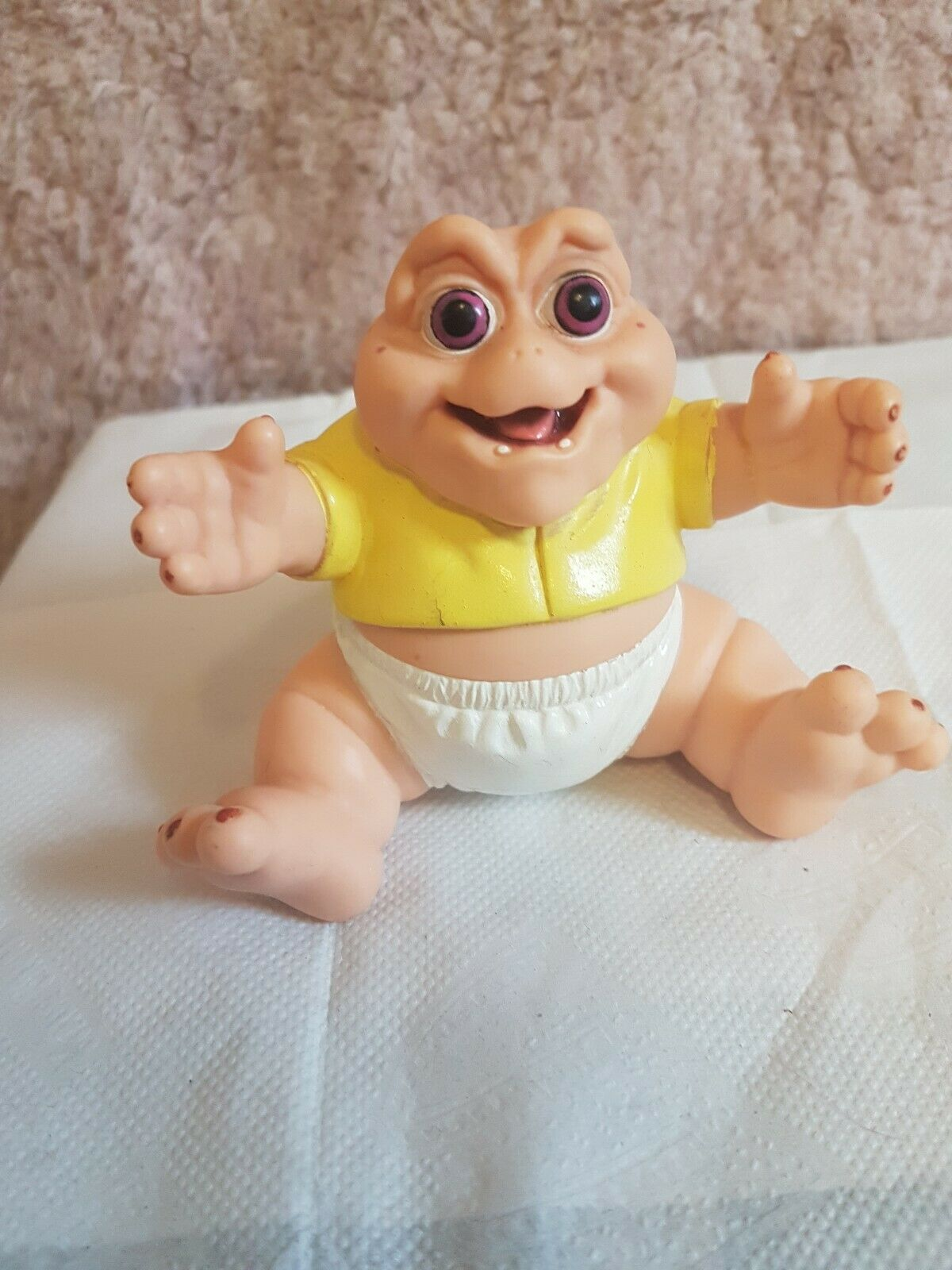 Vintage 1990's Jim Henson Dinosaurs Baby Sinclair Figure, disney