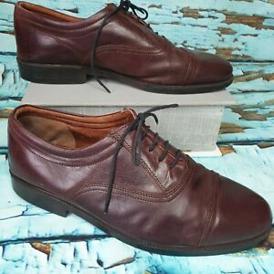 mens oxblood clarks leather brogues smart casual shoes