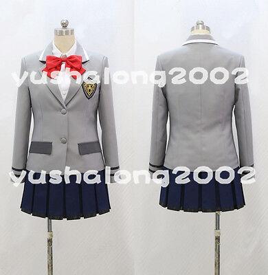 Tokyo Ghoul Kirishima Touka Cosplay Costume Kostüm Uniform Perücke wig