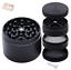 miniatuur 1 - Grinder métal magnétique noir - 4 étages - 40 mm diamètre