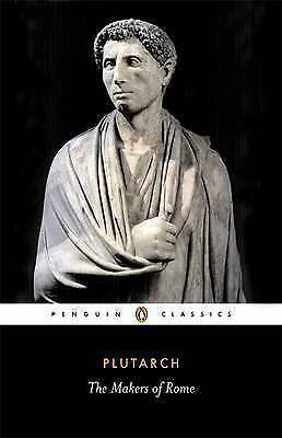 1 of 1 - The Makers of Rome by Plutarch (Paperback, 1975)