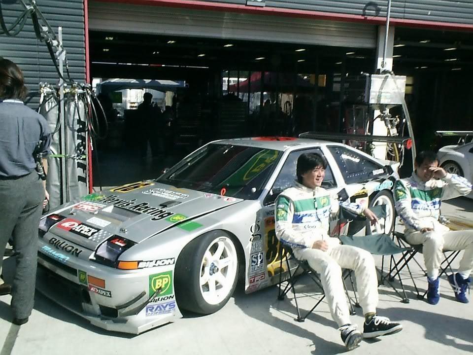 Toyota AE86 S 1 43 for JGTC racing 1999  (EBBRO)
