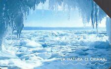 35-Scheda telefonica la natura ci chiama Siberia scadenza 31/12/2004 € 5,00