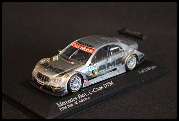 Minichamps Mercedes-Benz C-Class DTM 2006 1 43 Mika Hakkinen (FIN) (JS)
