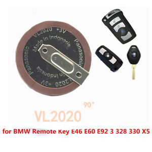 Details About Vl2020 Battery Replace For Bmw Remote Key Fobs E46 E60 E92 3 328 330 X5 Hot Sale