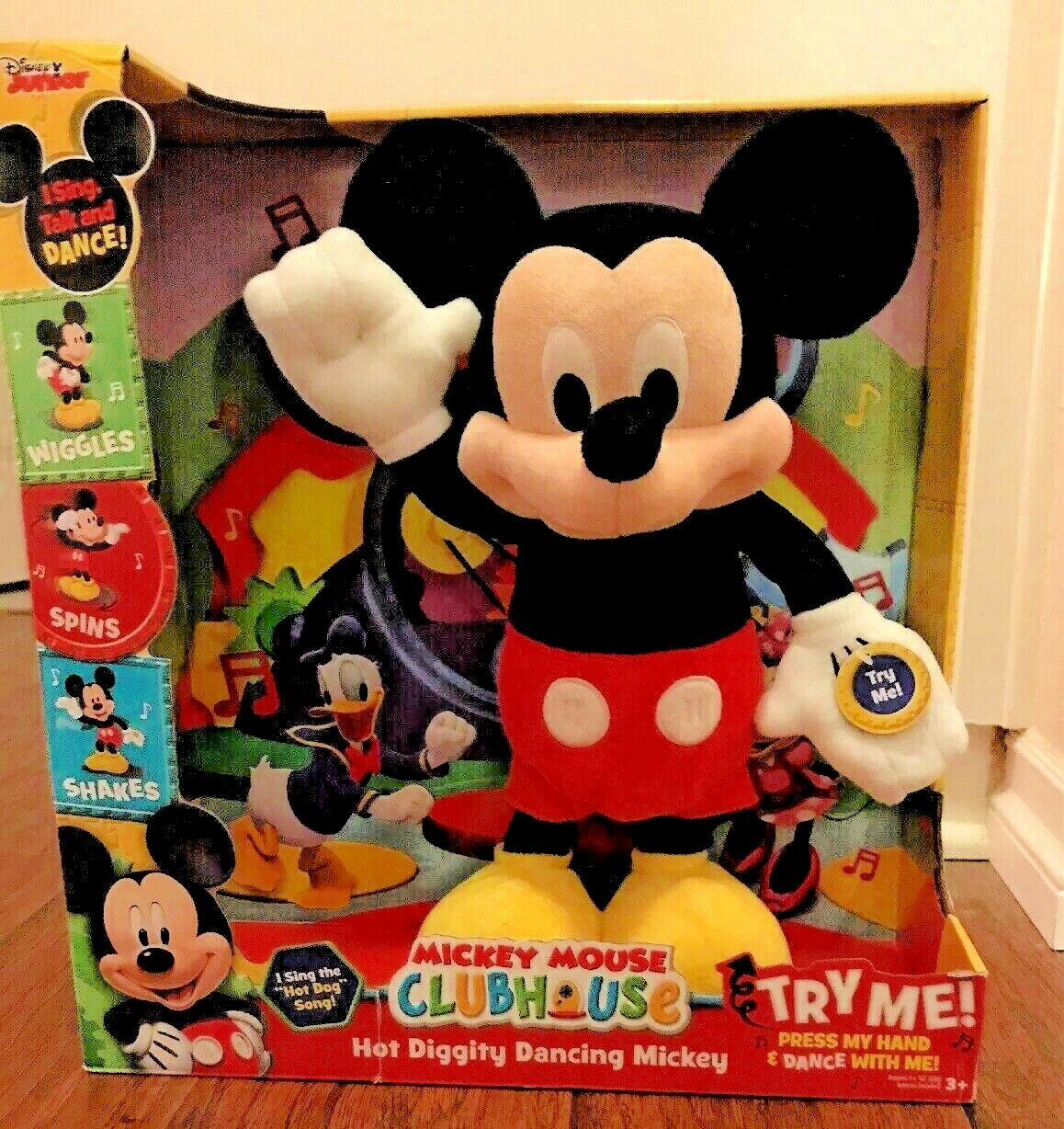 Just Play 10080 Mickey Mouse Clubhouse Hot Diggity Dancing For Sale Online Ebay