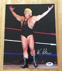 KEN PATERA Signed Vintage 8x10 Photo AWA NWA WWF WWE WCW With PSA/DNA COA