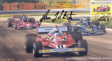 1977 FERRARI WOLF-COSWORTH BRABHAM ALFA ROMEO F1 cover signed HANS-JOACHIM STUCK