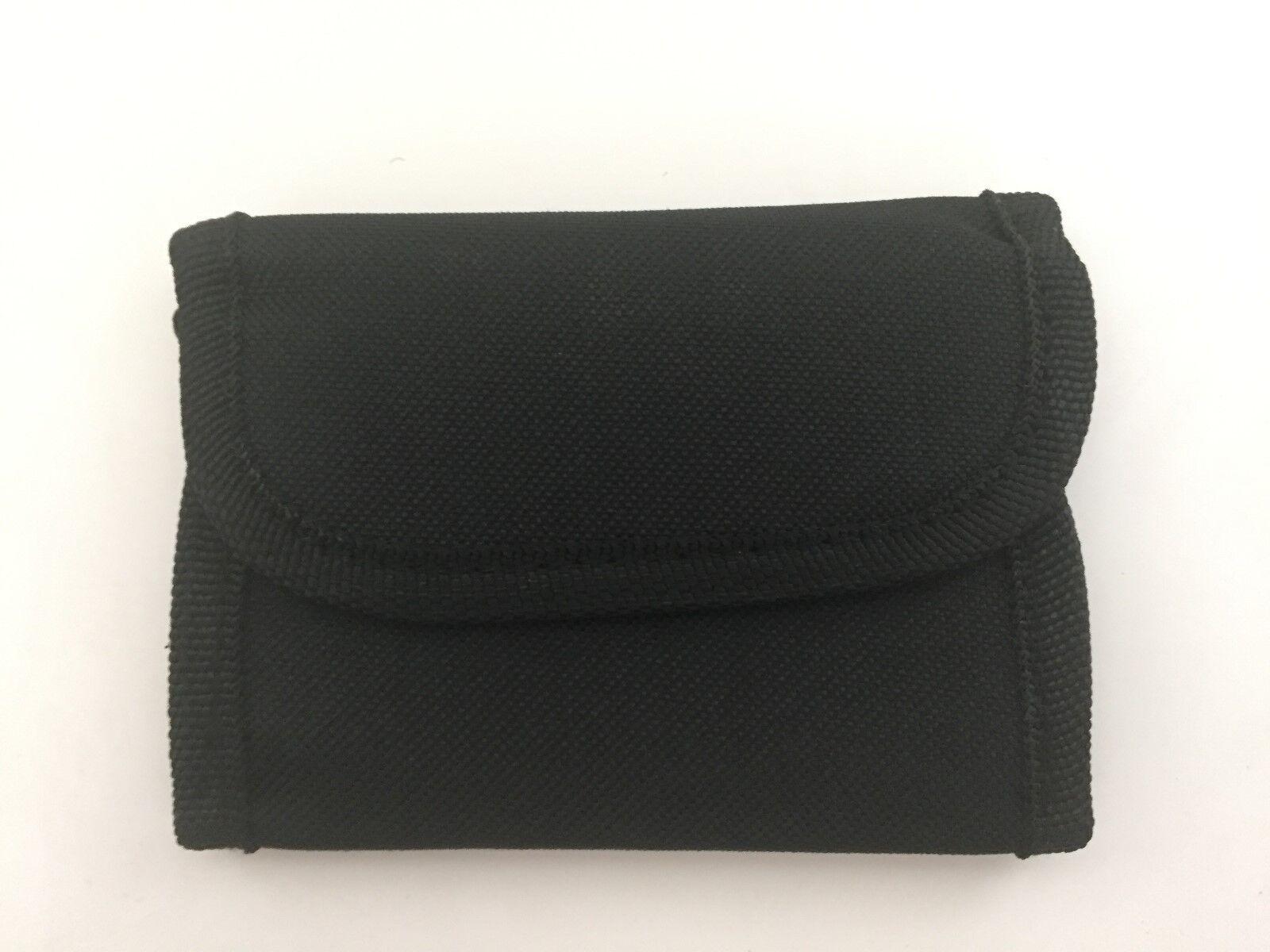 2-Soft Sided Unisex Wallet with Belt Strap-Black