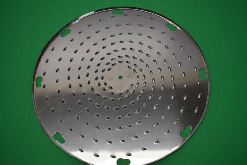 Fine /& Hard Cheese Grater Shredder Disc for Pelican Head Univex mixer Hobart etc