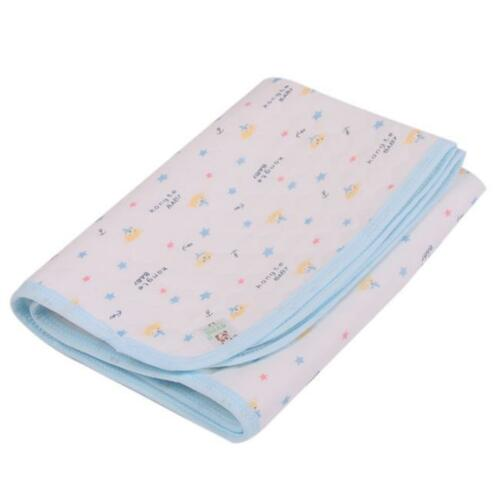 Baby Breathable Waterproof Foldable Diaper Mattress Changing Mat Cotton Pad SH