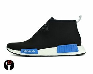 ADIDAS X PORTER NMD C1 7-13 BLACK BLUE WHITE CP9718 JAPAN CHUKKA CITY SOCK BOOST