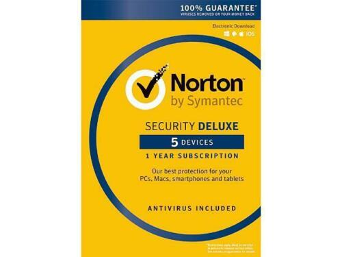 Canada Norton by Symantec Security Deluxe USA 5 Devices 1 Year Digital Key