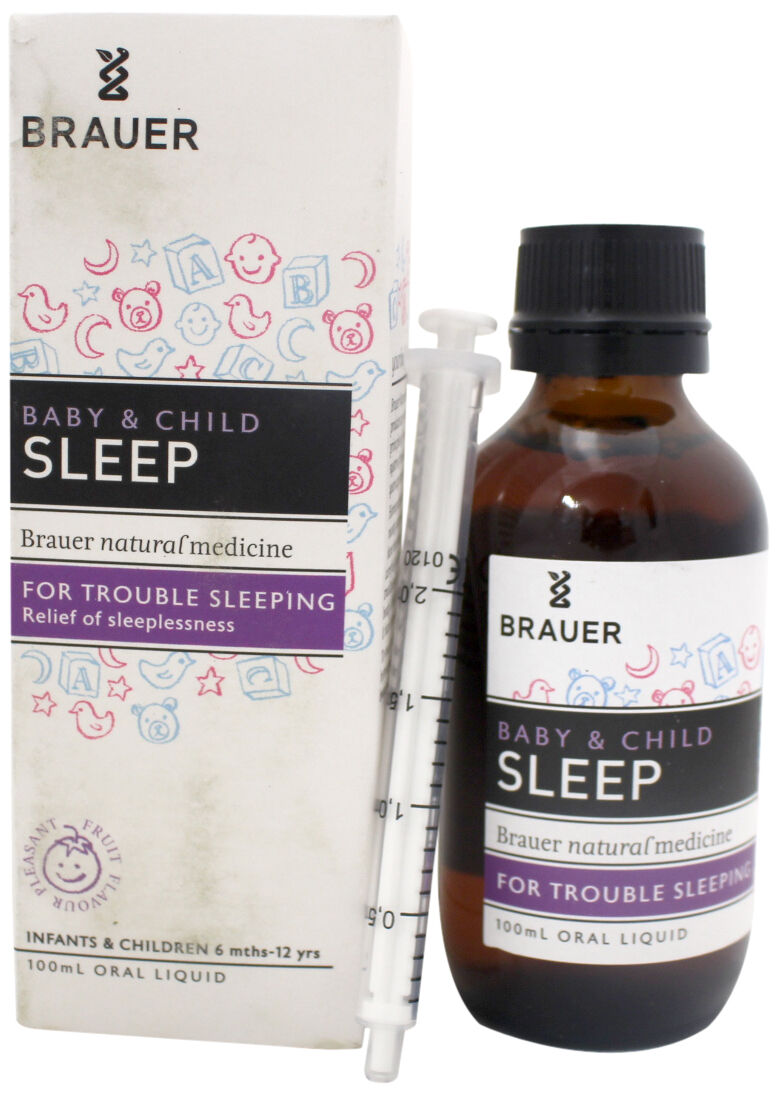 Brauer Baby and Child Sleep Liquid 100mL ::Relieve Sleeplessness and Insomnia:: 1