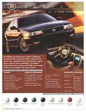 2002 Cadillac Seville Dealership Showroom Ad Flyer - Rarer than Brochure