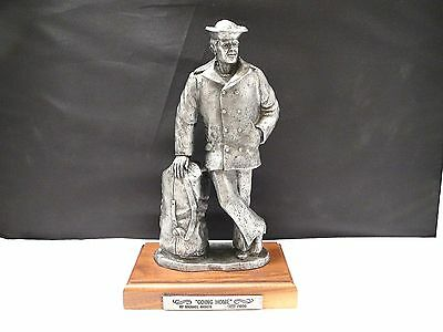 Pewter US Navy Sailor Going Home '87 USN Ltd Edition 985/1500 Military