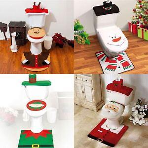 Natale Festoso 3pc Santa Elfo Renna Pupazzo Di