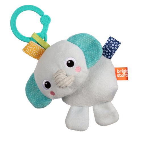 Friends for Me Bright Starts Elefant Greifling mit Glocke und Ring zum Bef