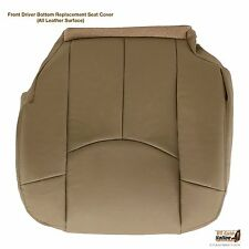 2002 Chevy Avalanche 1500 LT Z71 Z66 Driver Side Bottom Leather Seat Cover TAN